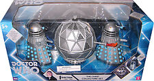 "Doctor Who 5"" Daleks: The Chase Action Figure Set, Mechanoid, 2 Daleks Dr."