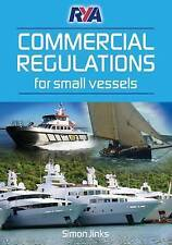 RYA Commercial Regulations for Small Vessels by Simon Jinks (Paperback, 2012)