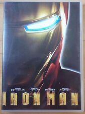 DVD Iron Man.Robert Downey JR. Terrence Howard