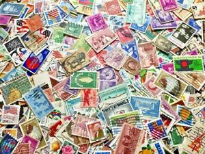 US Off Paper Randomly Picked 500 pcs Stamps Collection Lot United States