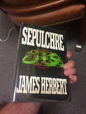 SEPULCHRE 1st Edition 1st Printing James Herbert
