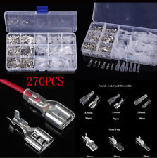 270 Pcs Assortment Car Bullet Connector Wire Crimp Terminal Kits 18-14/22-16 AWG