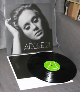 ADELE LP: 21 XLLP 520 Rolling in the deep/Someone like you MINT-!!