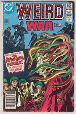 Weird War Tales #107 DC Comics 1981 CREATURE COMMANDOS Avenging Furies