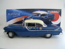 """Pontiac """"Star Chief"""" Hardtop Police Car 1955  Sun Star  1:18  OVP"""