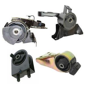 For 1999-2001 Mazda Protege 1.6L Auto Trans 4PCS Engine Motor & Trans Mount