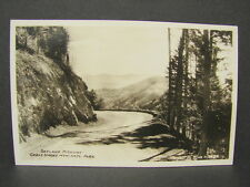 Vintage RPPC Post Card Skyland Highway Smoky Mountains National Park