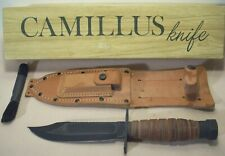 1984~CAMILLUS N.Y.~JET PILOT'S KNIFE~UNUSED~SURVIVAL & FIGHTING WEAPON w/SHEATH~