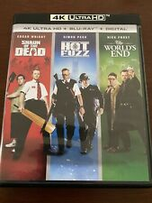 Shaun of the Dead/Hot Fuzz/The Worlds End (4K/Blu-ray, 2019, 6-Disc Set)