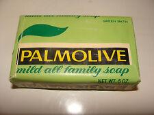 Vintage Palmolive Green Soap Bar  Bath Size 5 oz NOS No Phosphorus wrapper