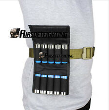 Tactical Hunting 10 Rounds Ammo Shotgun Shell Holder Carrier Mag Pouch 12 Gauge