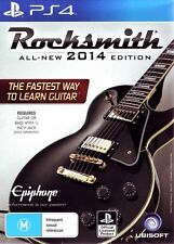 Rocksmith 2014 With Real Tone Cable  - PlayStation 4 game - BRAND NEW