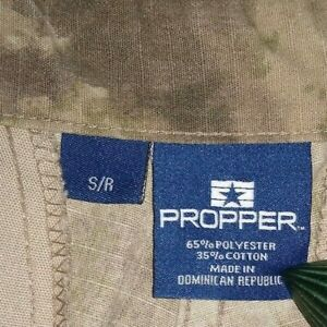 PROPPER  Digital  Camo cargo  Pants    Small Reg     EUC