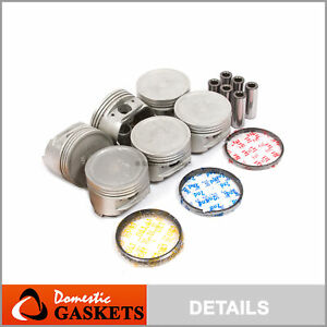 Pistons and Rings fit Mitsubishi Montero Sport 3.0 V6 6G72