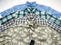 Arrow M LOT OF 4 Coastal Cove Short Sleeve Button Down Men's Shirts NEW NWT