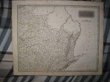 SUPERB ANTIQUE 1817 NORTHEAST FRANCE ARROWSMITH DATED MAP WINE REGION INTEREST
