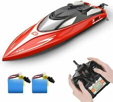 H120 Rc Boat Remote Control Boats 20+ mph 2.4 Ghz Racing Boats 2 battery gift Us