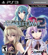 Record Of Agarest War 2 - PlayStation 3 - BRAND NEW - Aksys Games