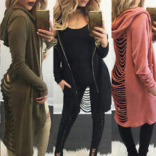 2018 Women Cardigan Coat Long Sleeve Casual Loose Sweater Jacket Chic Spring Top