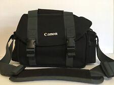 Canon Camera Black Shoulder Bag DSLR Accessories Case Detachable Shoulder Strap