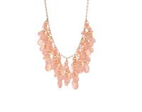 Natasha Women's Pink Tiered Vine Necklace 0525