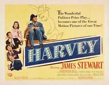HARVEY Movie POSTER 22x28 Half Sheet B James Stewart Josephine Hull Victoria