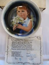 1981 For You 4th Issue Donald Zolan's Children Plate Collection Collector Plate