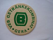 DDR_Bierdeckel VEB Getränkekombinat Gera