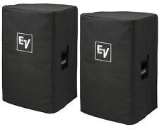 Pair Genuine ev Electrovoice padded speaker cover for EV ELX115P or ELX115 NEW