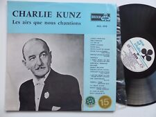 CHARLIE KUNZ Les airs que nous chantions ACE OF CLUBS ACL 1078
