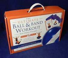 Hinkler Books The Ultimate Ball & Band Workout Kit Fitball & Resistance