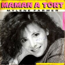 "Mylène Farmer - Maman A Tort - Vinyl 7"" 45T (Single)"