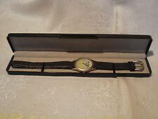 Bacardi Limon Werbe Armband Uhr Lederarmband in OVP aus Sammlung von 1996 selten