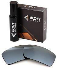 Polarized IKON Iridium Replacement Lenses For Oakley Gascan Silver Mirror