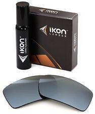Polarized IKON Iridium Replacement Lenses For Oakley Gascan Silver Mirror