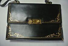 Vintage  Misuri Florence Grace Kelly Leather Box Purse