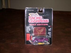 RACING CHAMPIONS- 1/64 - 1996- PONTIAC FIREBIRD  - PURPLE -MINT EDITION -NEW