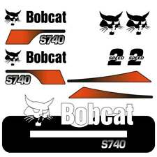Bobcat S740 Decals Stickers Repro kit