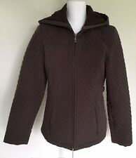 Woman's Water Repellent Warm Hooded Jacket NORTHCREST Size 6-8 ~ FREE Shipping