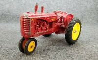 VINTAGE  ERTL MASSEY HARRIS 44 DIE CAST METAL TOY TRACTOR RED USA