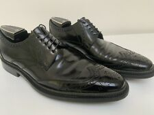 Mens DOLCE & GABBANA Leather, Black Lace-up Brogues UK 9 (43).