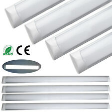 2x Ultra Slim 120cm 4FT 36W Surface Mounted LED Batten Linear Tube Light Ceiling