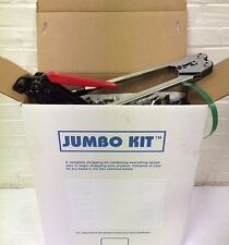 "Jumbo Polyest Strapping Kit  1/2"" x .028"" x 850 lbs brake strength + Seals+Tools"