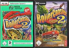 Roller Coaster RollerCoaster Tycoon 2 + ADDON Time Twister Expansion Pack Spiele
