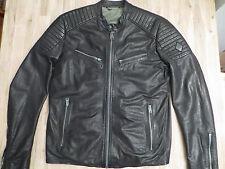 Replay giacca pelle xl giubbotto jacket Harley Davidson Diesel BIKER belstaff hd