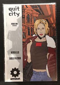 Quit City #1 NM- 1st Print Apparat Avatar Comics Warren Ellis
