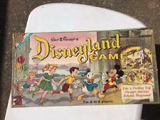 Vintage Walt Disney Disneyland Board Game by Transogram