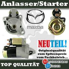 MAZDA 121 II 323 C F S P IV V VI Demio MX-3 MX-5 ANLASSER STARTER NEU NEW!!!