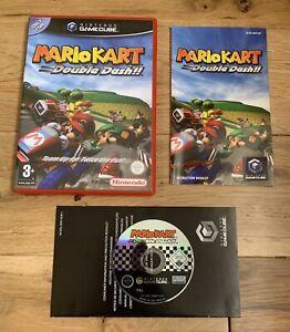 Nintendo Mario Kart: Double Dash (Nintendo GameCube, 2003) Red Case