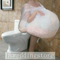 Toilet Buddy Petticoat for Bridal Wedding Dress Gather Skirt Underskirt M/L Size